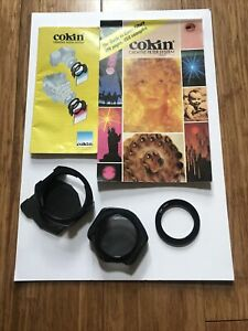 Cokin Filter System Guide. Adapter, Filter holder, coupling ring