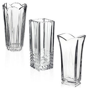 Bormioli Rocco Clear Heavy Glass Flower Vase Decoration Home Wedding Decor New