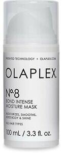 OLAPLEX PROFESSIONAL NO 8 MOISTURE MASK, masque hydratant 30ml Damaged Hair