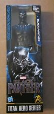 Marvel Avengers Titan Hero Series BLACK PANTHER ~ 12 inch figure ~ 2018 ~ NIP