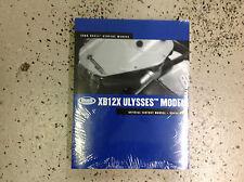 2006 Buell XB12X ULYSSES MODEL Service Shop Repair Workshop Manual New