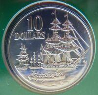 "1988 $10 UNC Silver Coin ""Australia's Bicentenary""  Landing of Gov Phillip- RAM"