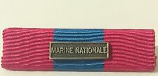 Rappel de médaille DEFNAT Défense Nationale Bronze avec agrafe MARINE NATIONALE