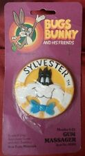 1977 Looney Tunes Sylvester the Cat Gum Massager Bugs Bunny and His Friends NIP