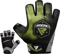 RDX Guanti Palestra Fitness Sollevamento Pesi Bodybuilding Cinghie F12 IT