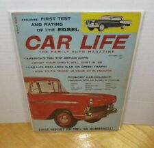 Car Life The Family Auto Magazine October 1957 Vintage Auto Magazine