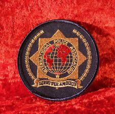 Patch IPA International Police Association 9cm Metallfaden/Lurex