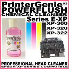 Head Cleaner kit for Epson XP-310 / 320 / 322 Printer: Nozzle Printhead Cleanse