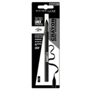 Maybelline New York Crayon Gel Effet Yeux Waterproof Tattoo Liner 900 NOIR