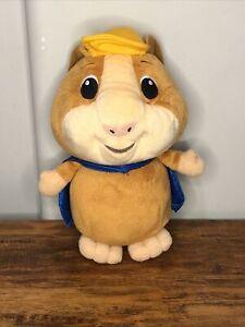 "Wonder Pets LINNY Plush Stuffed Animal Toy 8"" Fisher Price '07 Hamster Blue Cape"