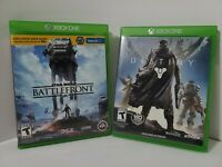 First Person Shooter Game Bundle Star Wars Battlefront And Destiny Xbox One