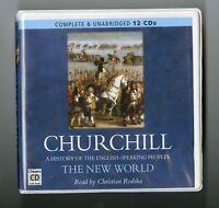 Churchill: The New World -  Unabridged Audiobook - 12CDs