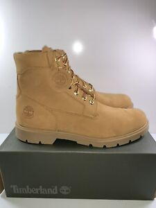 Timberland Mens 6 Inch Classic Boots Wheat Nubuck 019079 Size 13 New With Box