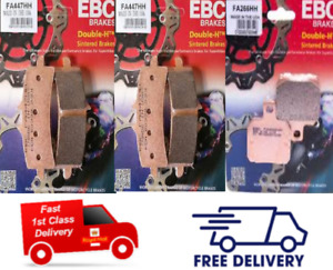 DUCATI MONSTER 1200 S / R 2014 - 2020 EBC Sintered FRONT & REAR Brake Pads
