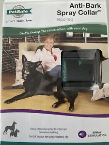 Pet Safe Anti-Bark Spray Collar, Gentle Dog Training Citronella PBC00-13912
