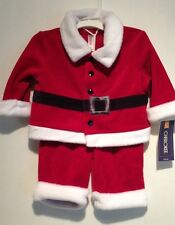 3 Months Baby Clothing, Santa, Christmas Outfit, Cherokee, New With Tag, Unisex