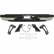 New Rear Chrome Step Bumper Assembly for GMC Sierra / Chevy Silverado 1500 99-06
