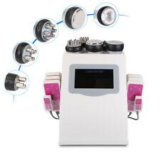 6in1 Ultrasonic 40K Cavitation RF Vacuum Cellulite LED Laser Weight Loss Machine