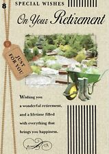 RETIREMENT ~ QUALITY CARD ~ Male or Female - Great selection To Choose From