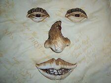 Tree Face Eyes Nose Lips Rubber Latex Mould Mold Wall Decor Plaque Home Garden 4