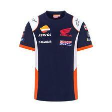 Repsol Honda HRC Mens Replica T-Shirt | Navy | 2020