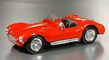 Cb06 Maserati A6 Gauss Calle 1953 Rojo 1/43 Escala Nuevo En plynth