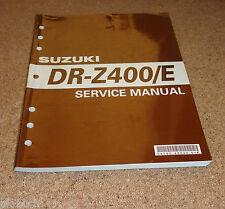 Werkstatthandbuch Suzuki DR - Z 400 / E Stand 12/1999