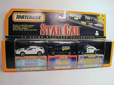 1998 MATCHBOX STAR CAR  COLLECTION/ TV CRIMESTOPPERS