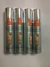 4 X Trial Size Sally Hansen Airbrush Makeup Foundation BEACH BEIGE Fair Skin NEW