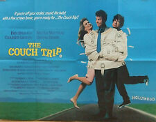 Dan Ackroyd Walter Matthau THE COUCH TRIP(1988)Original movie posterFREE UK POST