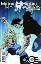 BIONIC MAN vs BIONIC WOMAN #1 New Bagged