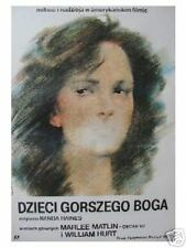 Polish poster by Waldemar Swierzy
