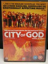 City of God Cidade De Deus PAL Format DVD Movie