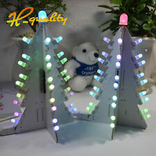 DIY Light Control Full Color LED Big Size Christmas Tree Tower Electronic Kits