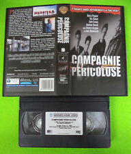 VHS film COMPAGNIE PERICOLOSE 2001 Vin Diesel John Malkovich (F199) no dvd