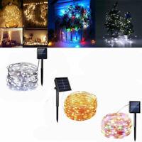 100/200 Leds 10M / 20m Alambre de cobre Luces de hadas Decoración de fiesta