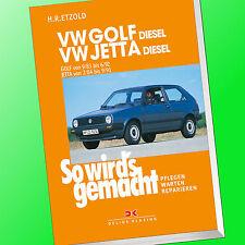 So wirds gemacht (Band 45) | VW GOLF II(2)/VW JETTA DIESEL | Reparieren (Buch)