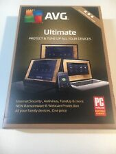AVG  Ultimate 2018, Unlimited Devices, 1 Year