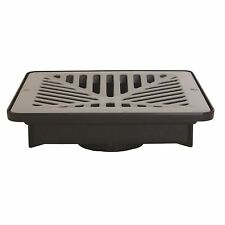 Everhard Industries EasyDRAIN SHALLOW FLO-WAY PIT+GREY POLYMER GRATE *Aust Brand
