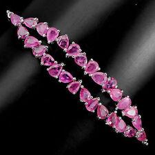 Tennis Not Enhanced Ruby Fine Bracelets