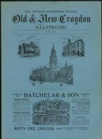 OLD & NEW CROYDON ILLUSTRATED 1894.. FACSIMILE