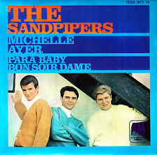 "EP the SANDPIPERS para baby michelle yesterday 45 7"" SPANISH 1967 BEATLES"