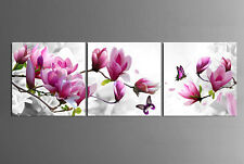 Not Framed  Home Decor Canvas Print Plum Blossom Flower Floral Wall Art Pictures