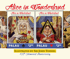 Palau- 2014 Alice in wonderland stamps, illustrated by Sir John Tenniel SC# 1225
