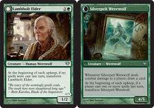 MTG X4: Lambholt Elder, Dark Ascension, U, NM-Mint - FREE US SHIPPING!