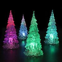 Christmas Tree LED Colorful Lamp Light Nightlight Desk Table Party Xmas Decor