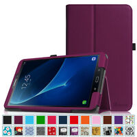 For Samsung Galaxy Tab A 10.1 / Tab E 8.0 Case Leather Stand Cover Wake/Sleep