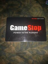 Game Stop * Used Collectible Gift Card NO VALUE * SV1606473
