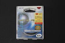 Kenko 52mm MC UV Digital Filter For Canon EF-S 24mm f/2.8 STM  60/2.8 USM Micro