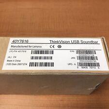 Lenovo ThinkVision USB Soundbar 40Y7616 @G
